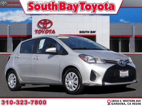 Certified Pre-Owned 2015 Toyota Yaris STD