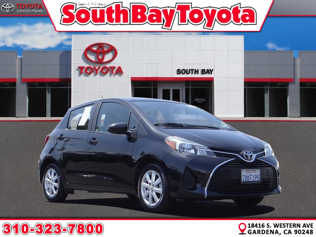 Certified Pre-Owned 2016 Toyota Yaris LE